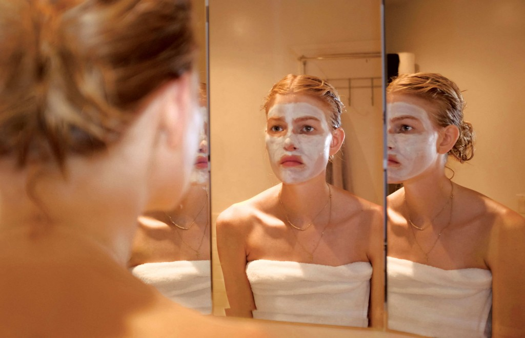 """""""On the eve of Fashion Week, I do little rituals, like putting on face masks, to get my head in the game."""""""